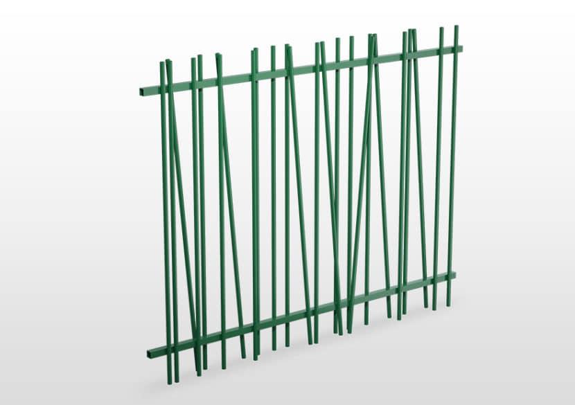 Barreaudage Vert