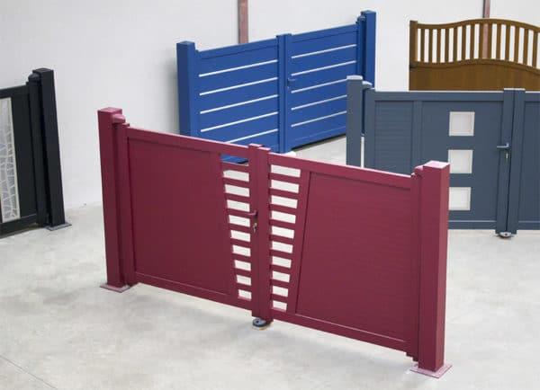 Quaglia Métal_ un large choix de portails à battant en aluminium